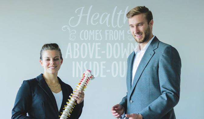 Chiropractors Colorado Springs CO Joshua Logan with Wife